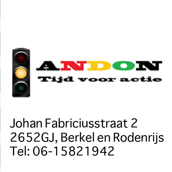Andon Advies | Joh. Fabriciusstraat 2 Berkel en Rodenrijs tel: 06-15821942