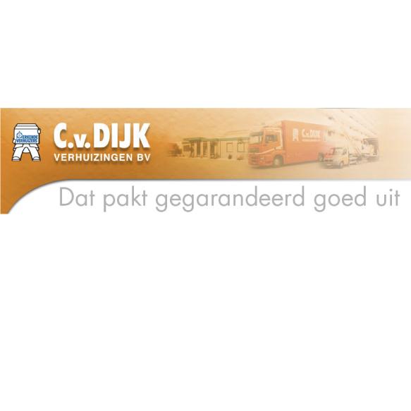 C. van Dijk Verhuizingen BV | Dat pakt gegarandeerd goed uit!