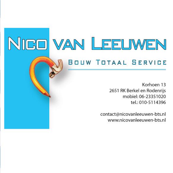 Nico van Leeuwen Bouw Totaal Service