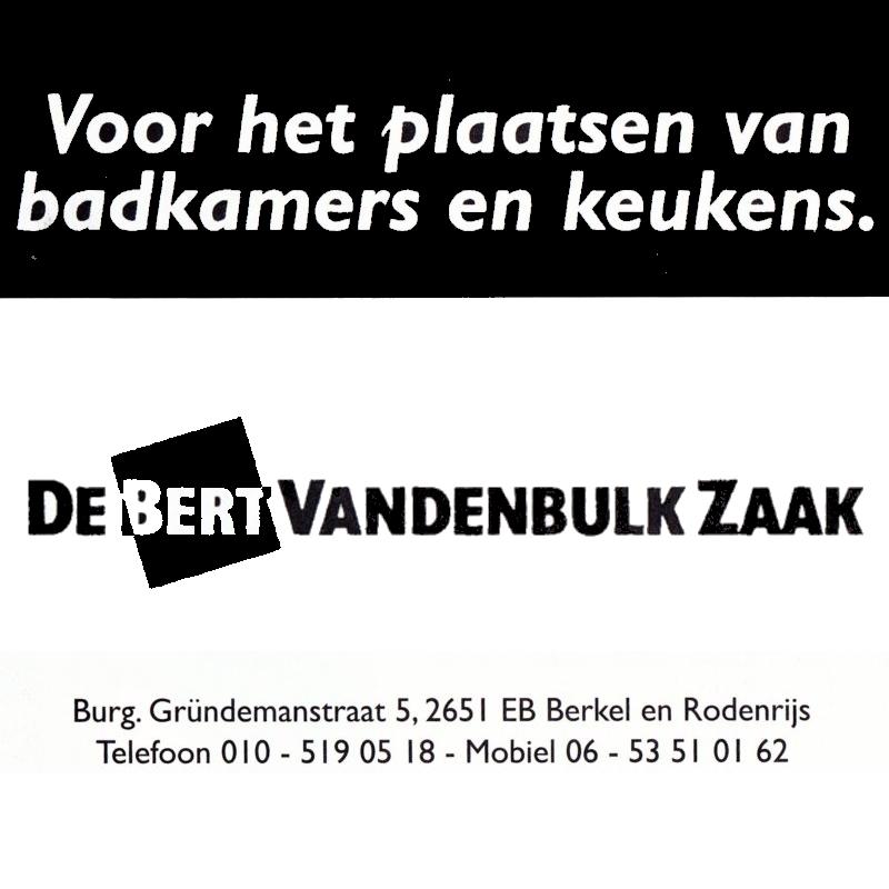 Bert van den Bulk Zaak